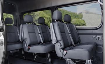 Mercedes-Benz Sprinter Tourer – Interieur, Brillantsilber Metallic, Hinterradantrieb Mercedes-Benz Tourer – interior, brilliant silver metallic, Rear-wheel drive